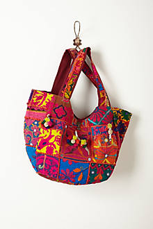 Sarojini Embroidered Hobo