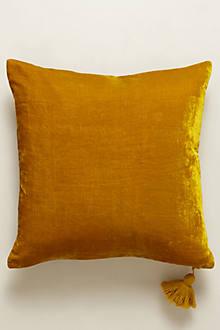 Velvet Silvi Pillow