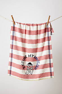 Bulldog Dishtowel