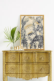 Hand-Embossed Four-Drawer Dresser