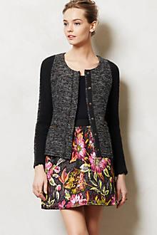 Glimmered Tweed Jacket