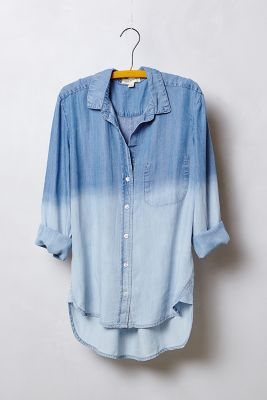 cloth & stone - Dip-Dye Chambray Buttondown