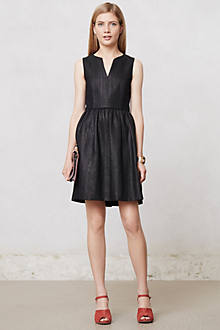 Midnight Tweed Dress