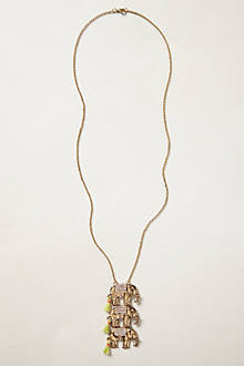 Stacked Pachyderm Necklace