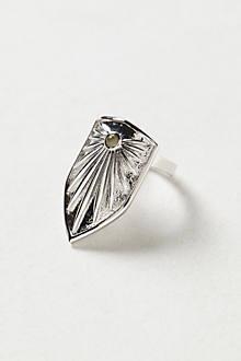 Brass Shield Ring