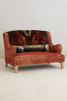 Silk Knotted Settee