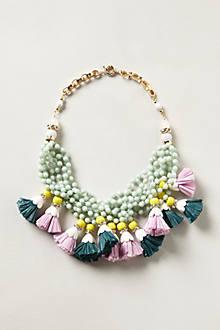 Tasseled Strands Necklace