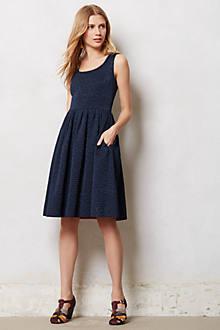 Sleeveless Quilted Aude Dress