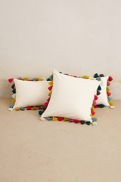 Sale alerts for Anthropologie Firenze Velvet Tassel Pillow - Covvet