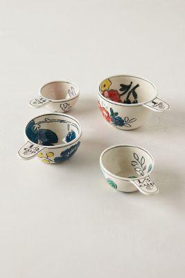Garden Sketch Measuring Cups