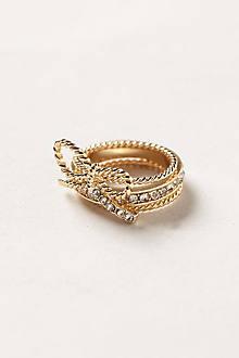 Lassoed Bow Ring