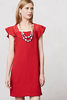 Cerise Shift Dress
