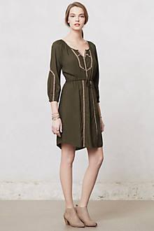 Ribboned Peasant Dress