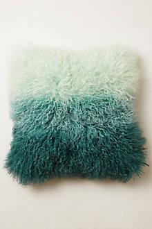 Ombre Luxe Fur Pillow