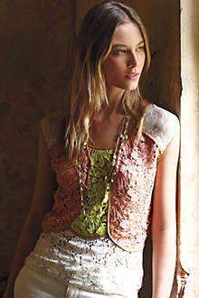 Patchwork Lace Shell