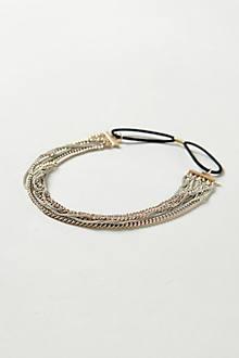 Gilded Chainlink Headband