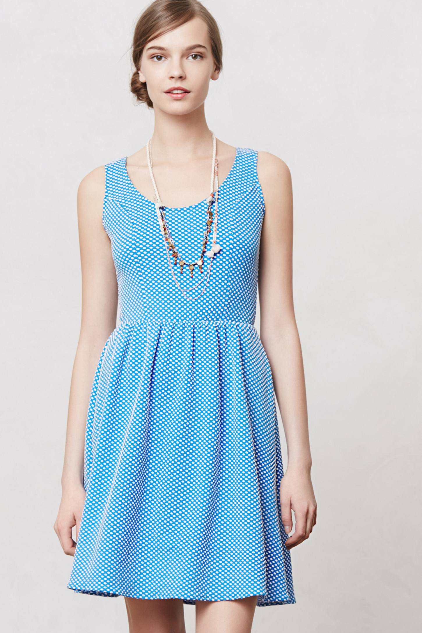 Effortlessly with roxy: Reviews: Pindot Ruffle Dress, Confetti ...