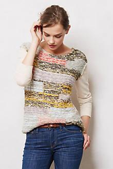 Marl-Block Pullover