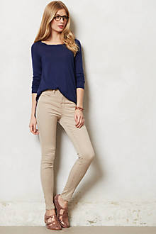 J Brand Maria High-Rise Sateen Jeans