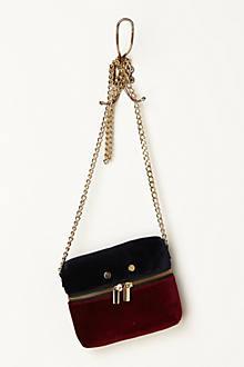 Velvet Mini Crossbody Bag