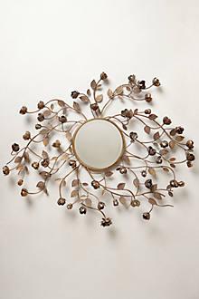 Flourishing Rosebuds Mirror