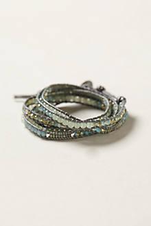 Shimmer Stone Wrap Bracelet