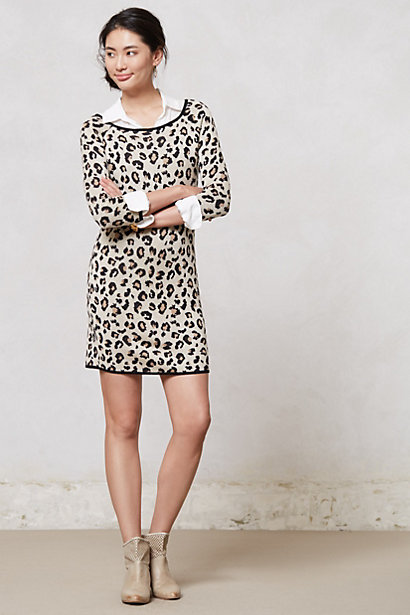 Sale alerts for Anthropologie Leopardo Sweater Dress - Covvet
