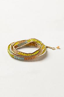 Gradient Bead Wrap Bracelet