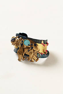 Tusks & Tassels Bracelet