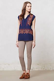 Folk-Embroidered Tunic