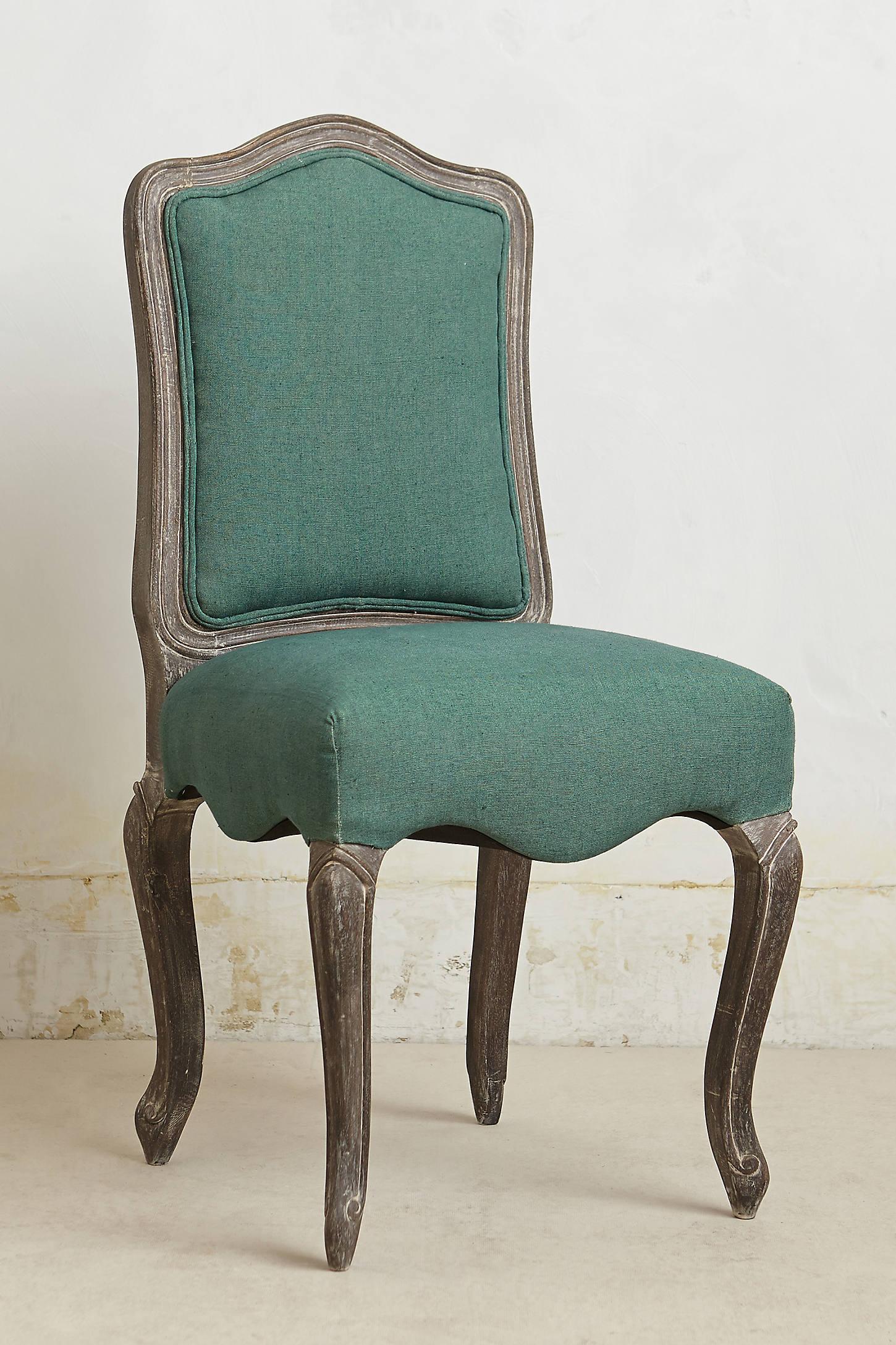 Linen Beatrix Dining Chair