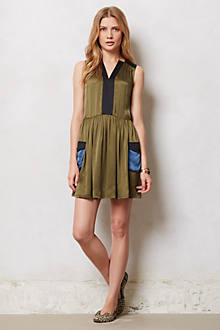 Silk Cargo Dress