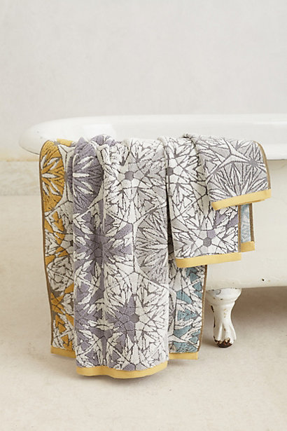 Sale alerts for Anthropologie Woven Mandala Towel - Covvet