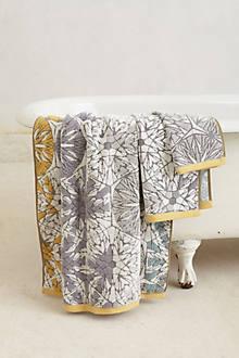 Woven Mandala Towel
