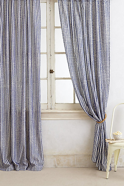 Anthropologie Fringed Toulon Curtain | Fancy Friday - Dream Apartment Decorating