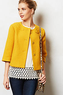 Marigold Swing Coat