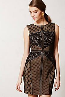 Lace Topography Sheath