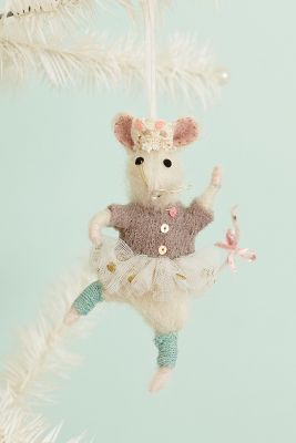 Brava Mouse Ornament