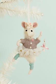 Brava Mouse Ornament
