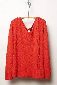 Skewed Cable Pullover