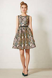 Starshine Brocade Dress