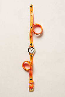 Studded Tangerine Wrap Watch