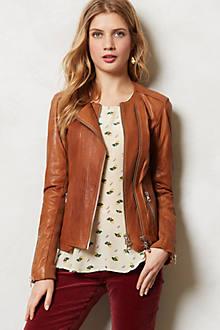 Sylvana Leather Moto Jacket