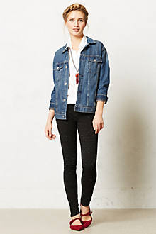 Mother Looker Flecked Ponte Jeans