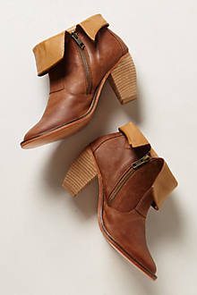 Saloon Folded Booties