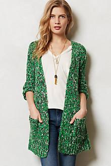 Marled Emerald Cardigan