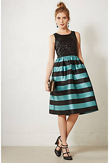Starlit Stripes Dress