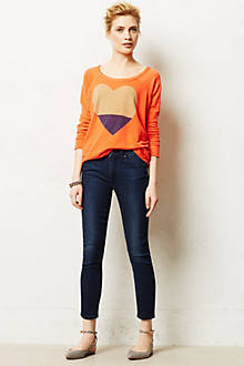 Paige Hoxton High-Rise Ankle Jeans