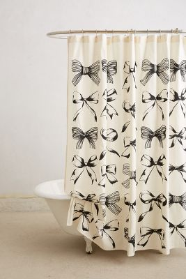 Bow-Tie Shower Curtain