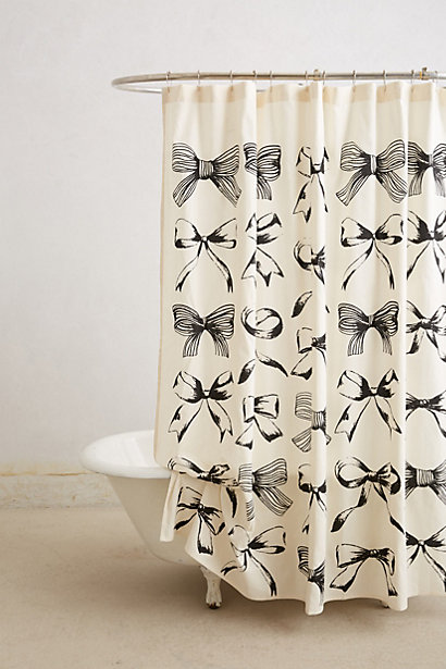 Bow Tie Shower Curtain